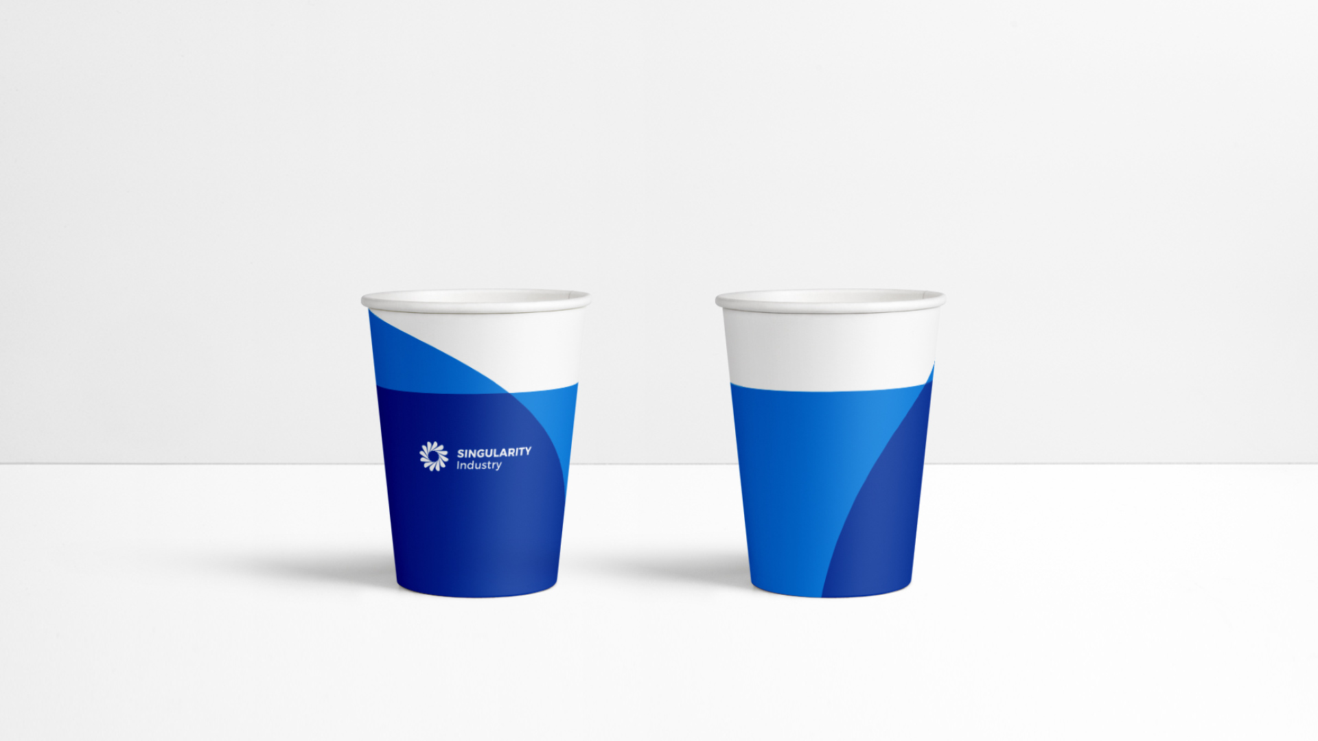 中新产元VI应用纸杯设计