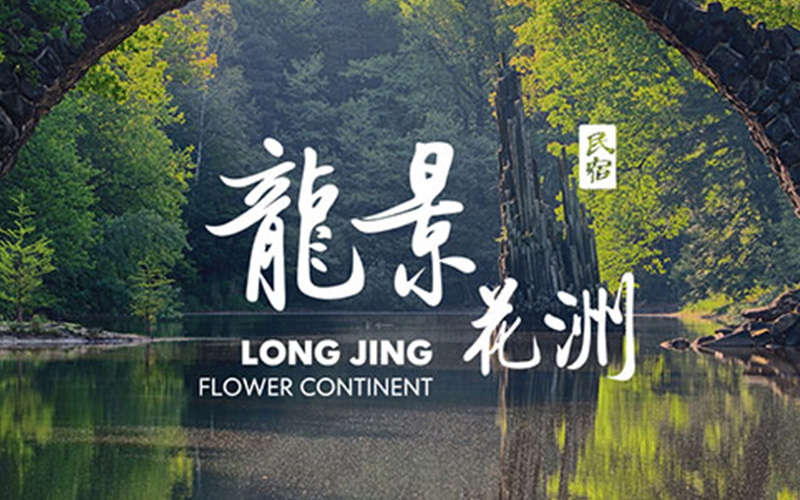 龙景花洲民宿logo设计