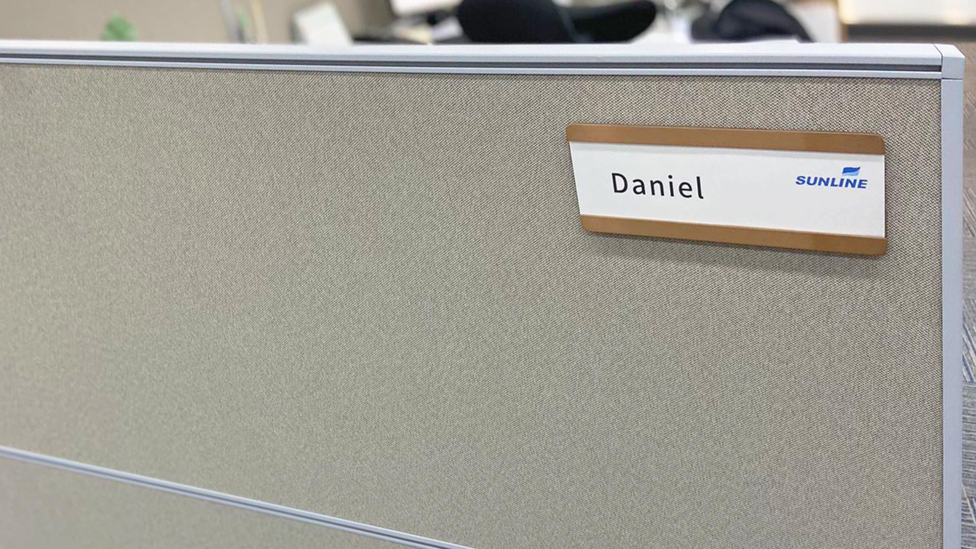 盛伦物流会议室导视标识设计-亚太厅