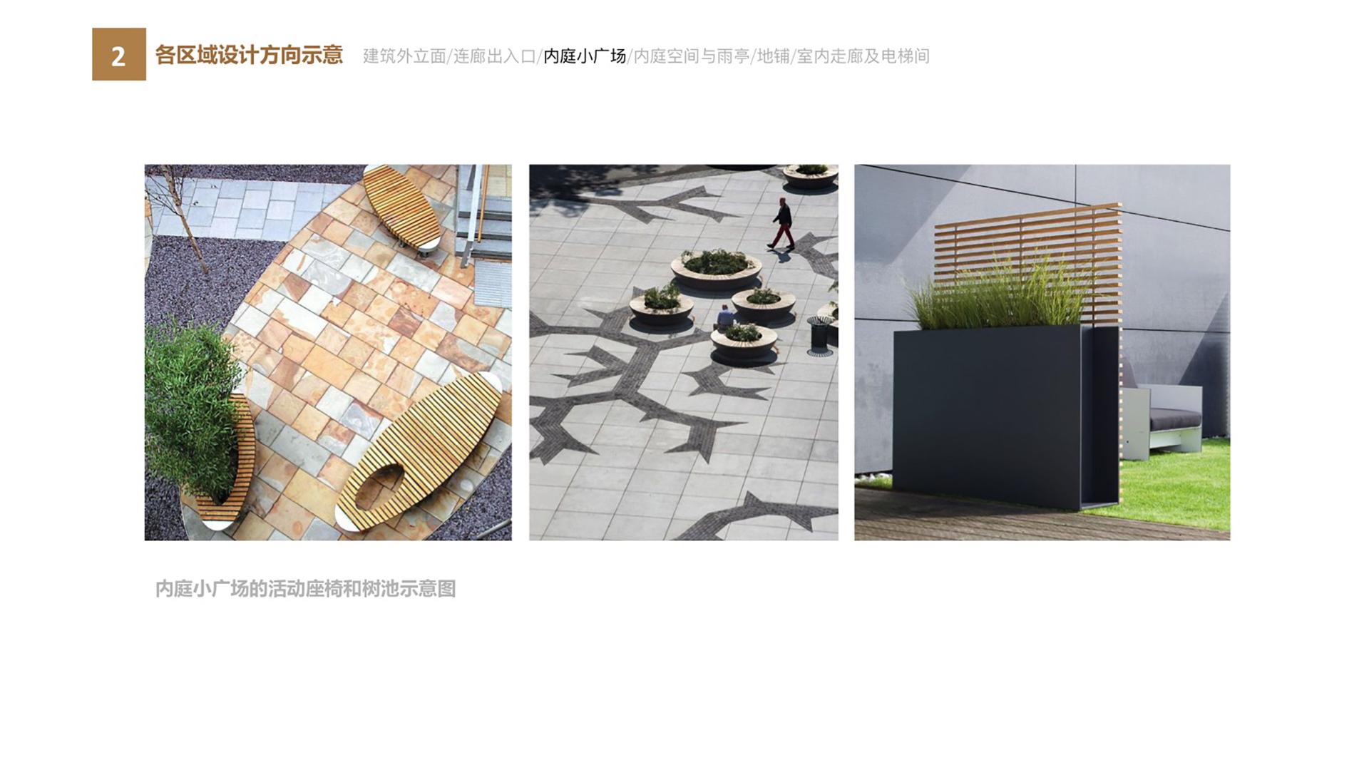 碧桂园商业楼空间设计各区域设计方向示意