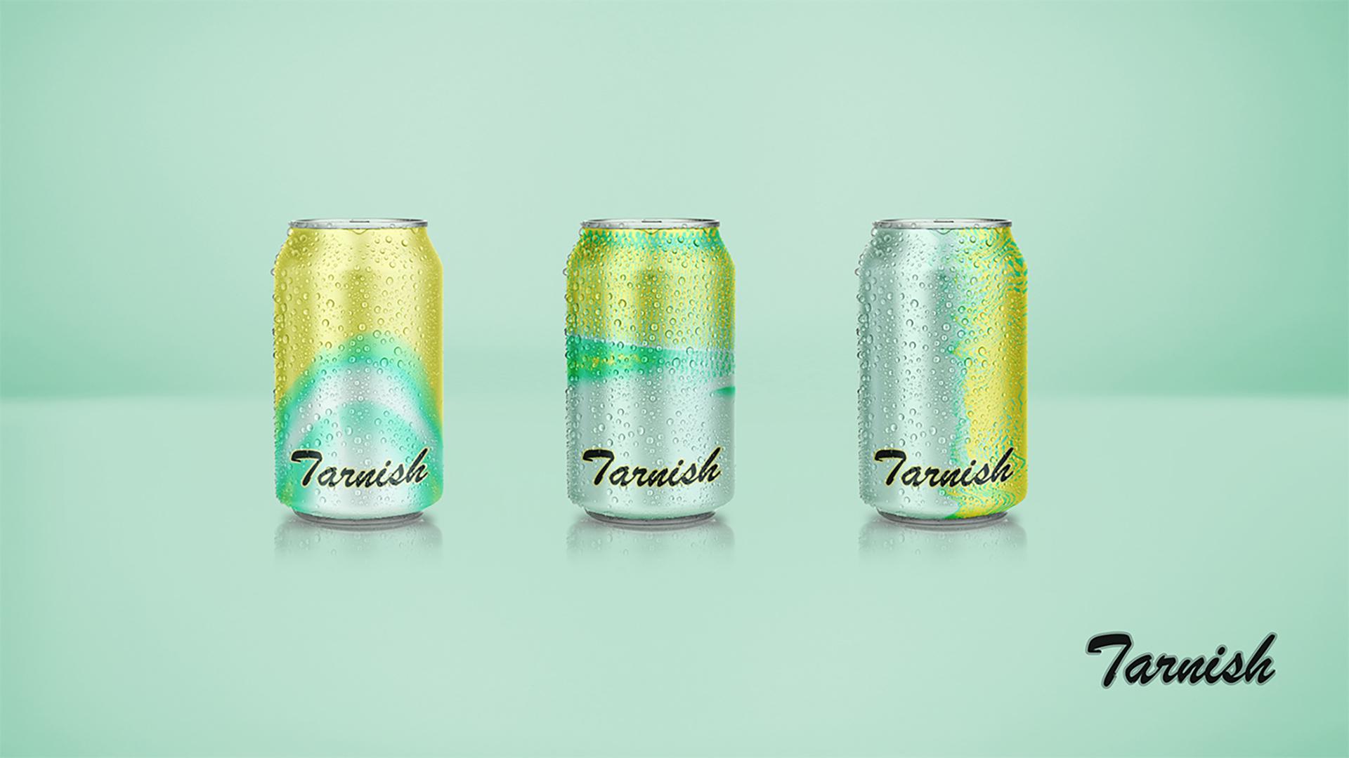 Tarnish冰啤柠檬口味包装设计