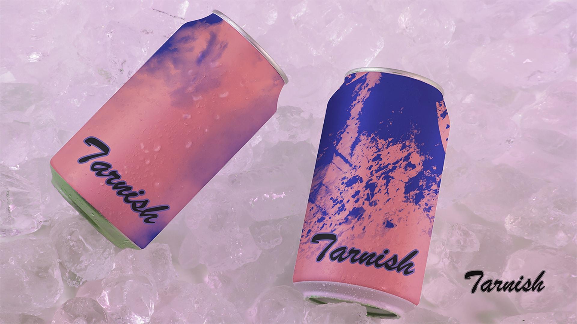 Tarnish冰啤樱桃口味包装设计效果图