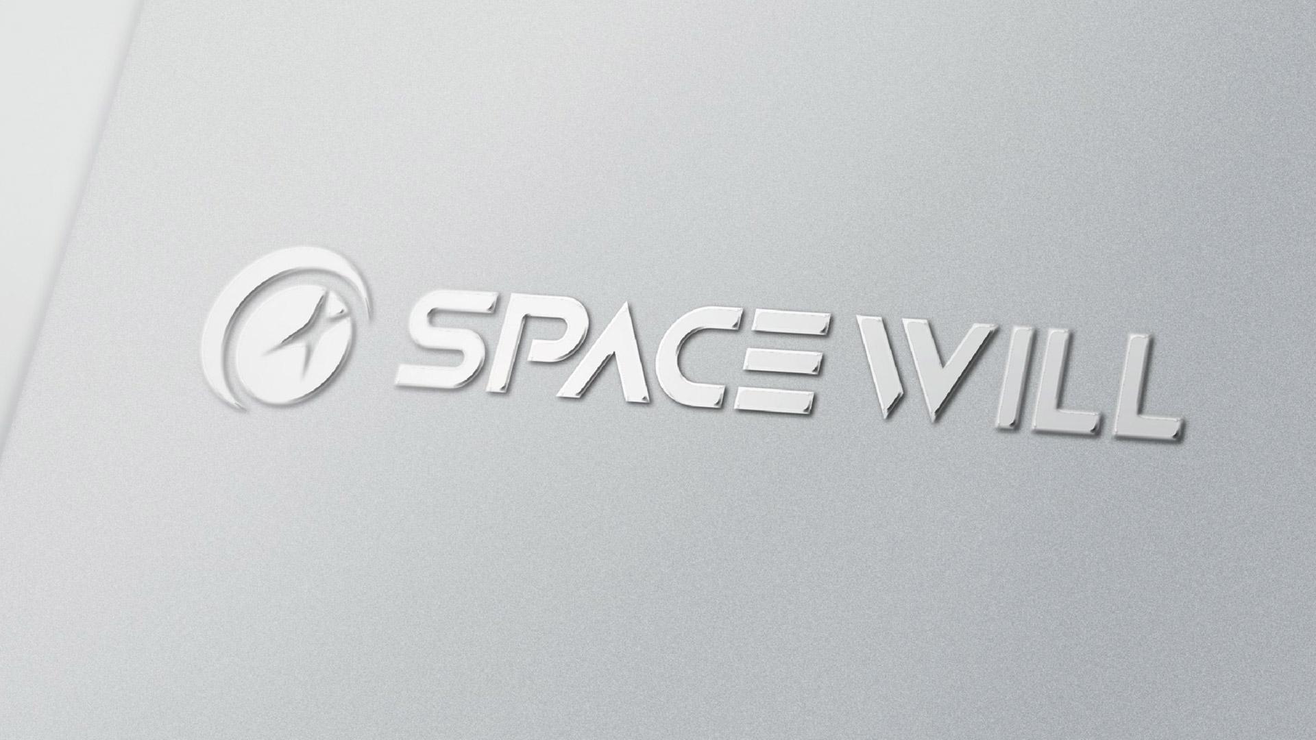航天世景新logo材质效果图