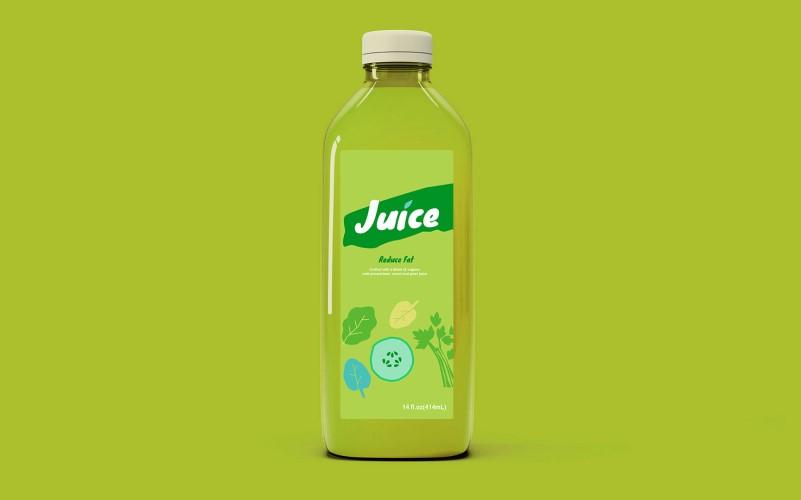 JUICE鲜榨果蔬汁系列包装设计