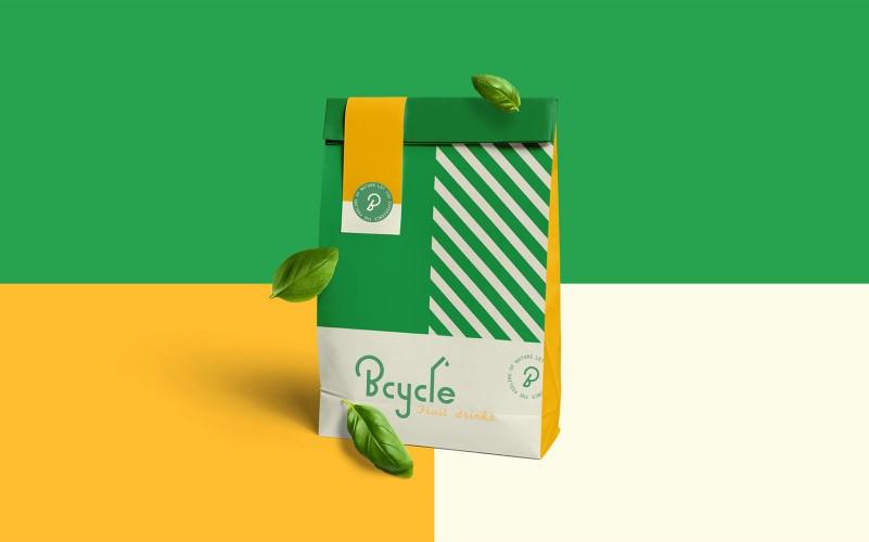 Bcycle系列浓缩果汁品牌设计